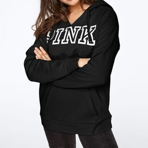 PINK VS Everyday Lounge Notch Neck Pullover Hoodie